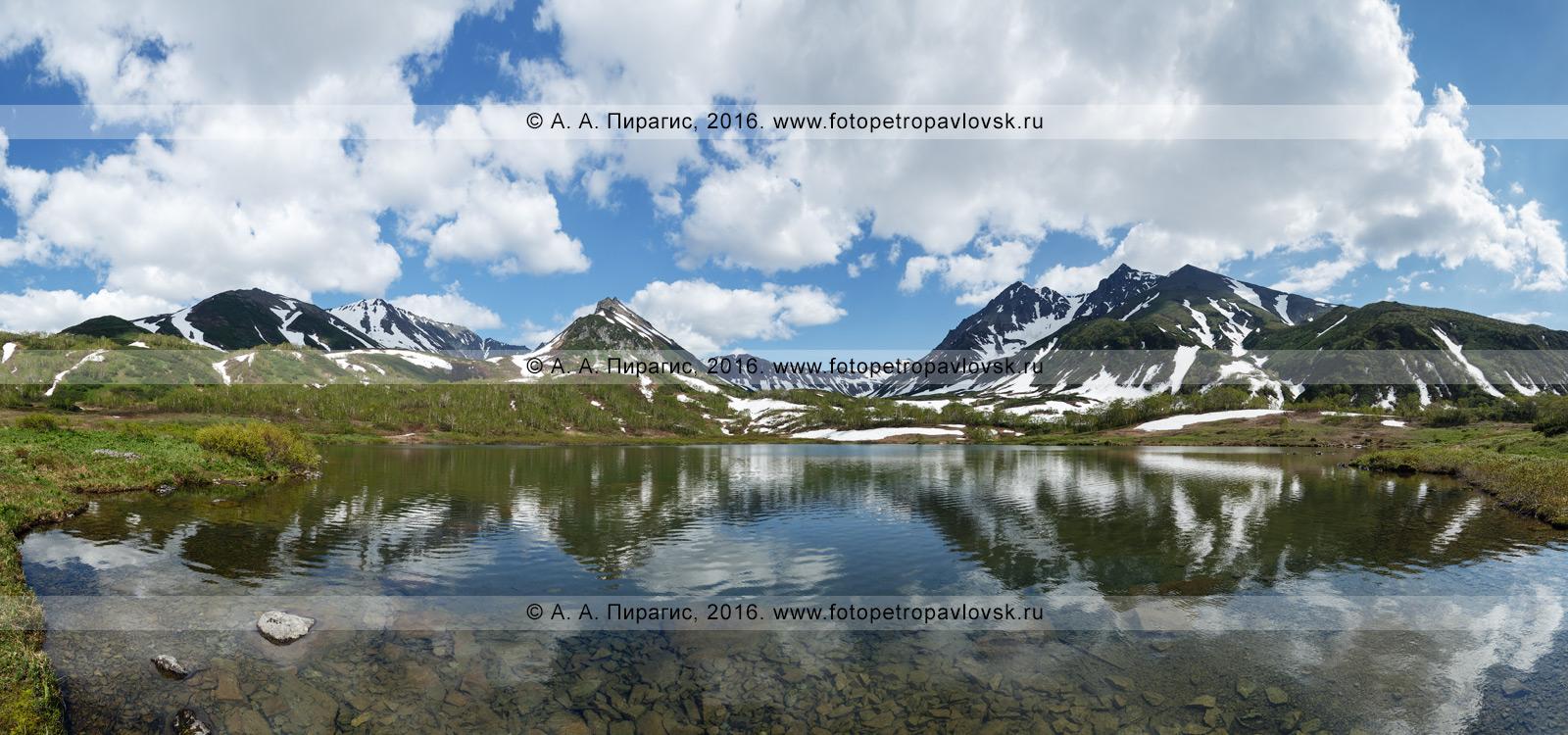 Горный массив Вачкажец, озеро Тахколоч