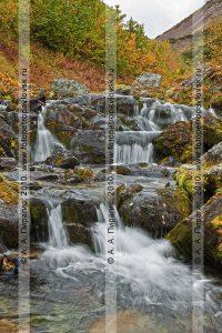 Река Ключевая, горный массив Вачкажец